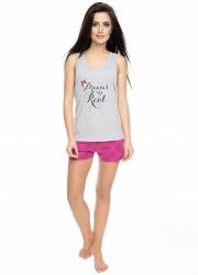 Пижама женская с шортиками Rossli