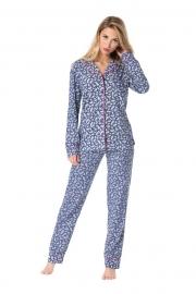 Пижама женская Rossli на пуговицах 100% хлопок
