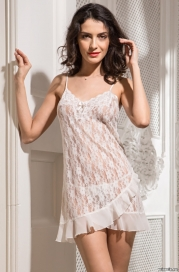 Короткая кружевная сорочка Mia-Amore 9804 JASMIN
