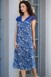 Длинная сорочка Mia-Mella 9905 VIOLETTA