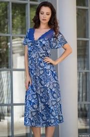 Длинная элегантная сорочка Mia-Mella 9908 VIOLETTA