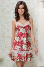 Короткая сорочка Mia-Mella 9871 AMARETTO