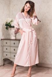 Длинный халат Mia-Amore 3109 MARILIN 70% натуральный шелк