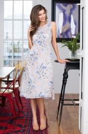 """Платье домашнее из вискозы mia-mia """"aura"""" 16284"""