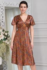 Длинная сорочка Mia-Amore 3418 DAYANA 70% натуральный шелк