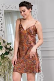 Короткая сорочка Mia-Amore 3411 DAYANA 70% натуральный шелк