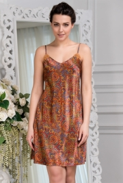 Короткая сорочка Mia-Amore 3410 DAYANA 70% натуральный шелк