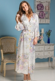 Длинный халат Mia-Amore 5999 LILIANNA (70% шелк)