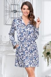Рубашка - халат MIA-MIA ELIZABETH 8457
