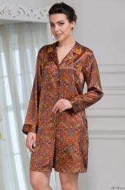 Рубашка ( 70% натуральный шелк) MIA-MIA DAYANA 3417