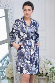 Короткий халат Mia-Amore PION 8233