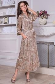 Длинный халат Mia-Amore CLEMENTINA 3459 (70% натуральный шелк)