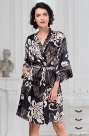 Короткий халат Mia-Amore DA VINCI 8443