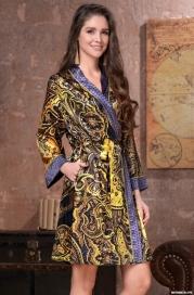 Халат - кимоно Mia-Amore  ARMANI GOLD 3493 (70% натуральный шелк