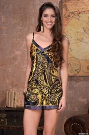 Пижама Mia-Amore ARMANI GOLD 3492 (70% натуральный шелк)