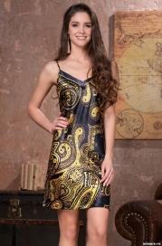 Ночная сорочка Mia-Amore ARMANI GOLD 3491 (70% натуральный шелк)