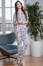Женская пижама с брюками MIA _MIA GRETTA 6866