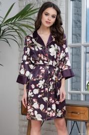 Халат-рубашка MIA_MIA MAGNOLIA 3527 (70% натуральный шелк)