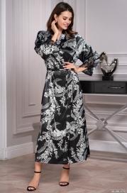 Женский халат Mia-Amore MIRIAM 3489 (70% натуральный шелк)