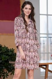 Женский халат-рубашка Mia-Amore MIKAELLA 6847