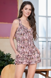Пижама с шортиками Mia-Amore MIKAELLA 6842