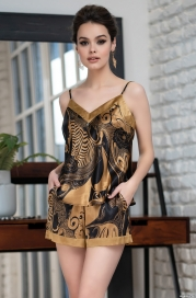 Пижама с шортиками Mia-Amore ANTIKA 3472 (70% натуральный шелк)