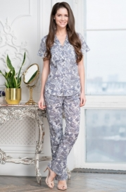 Пижама с брюками Mia-Amore TESSA 6836