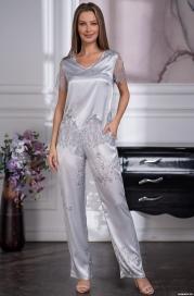 Шелковый комплект-пижама Mia Amore Kelly 3576 (70% натур.шелк)