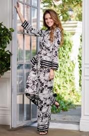 Шелковый комплект с брюками Mia Amore Ясмин 8636