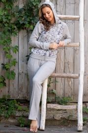 Домашний костюм с кофтой на молнии Renata 1316