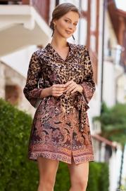 Рубашка из шелка Mia Amore Cleopatra 3567