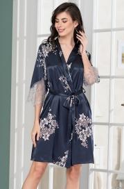 Шелковый халат Mia Amore 3573 (70% шелк)
