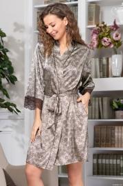 Короткий халат Mia-Amore Ajur 8773