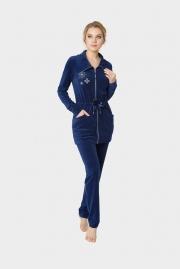 Велюровый костюм Nic Club Insegne 2 синий