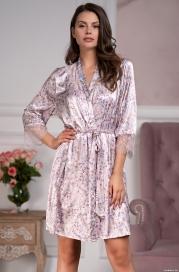 Короткий халат Mia-Amore Vladlena 3593 (70% шелк)