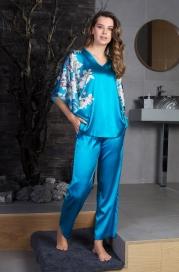 Шелковая пижама Mia Mia (100% шелк)