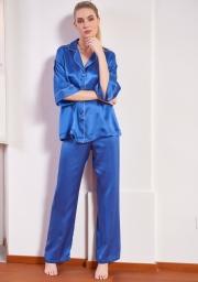 Женская пижама из натурального шелка