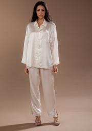 Шикарная шелковая женская пижама