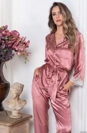 Шелковая пижама-двойка Mia Amore (70% нат.шелк)