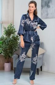 Шелковая пижама-тройка Mia Amore (70% нат.шелк)