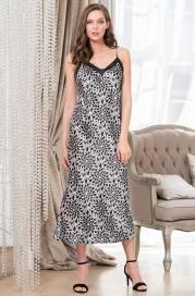 Длинная шелковая ночная сорочка Mia Amore Мануэлла
